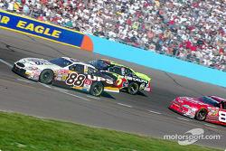 Dale Jarrett, Joe Nemechek and Dale Earnhardt Jr.