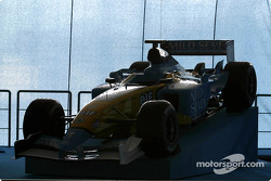The new Renault F1 R23 before the launch