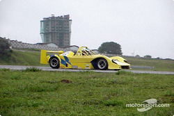 Vasconcelos drive his prototype in the morning