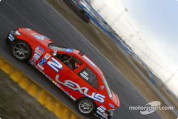 #2 Team Lexus Lexus IS300: Ian James, Troy Hanson