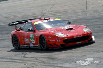 #88 Prodrive Racing Ferrari 550 Maranello: Tomas Enge, Peter Kox, Jamie Davies