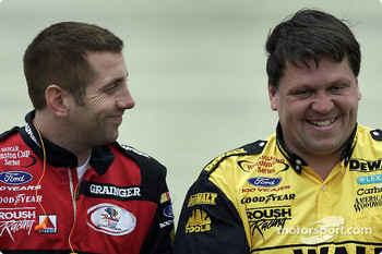 Greg Biffle and Matt Kenseth's crew chief Robbie Reiser