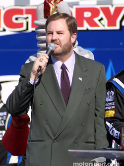 The President of Texas Motor Speedway