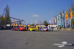 The class of 2003: all the drivers of the DTM with their cars