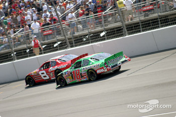 Dale Earnhardt Jr. and Bobby Labonte