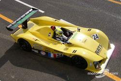 #24 Rachel Welter WR LMP01-Peugeot: Olivier Porta, Yojiro Terada