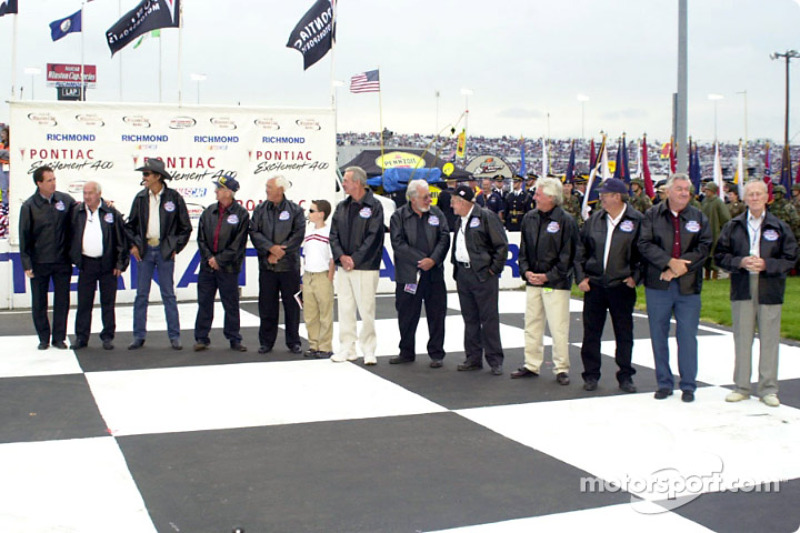 RIR celebrated its 50th anniversary by bringing together NASCAR legends to help celebrate