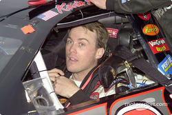 Kevin Harvick in the car
