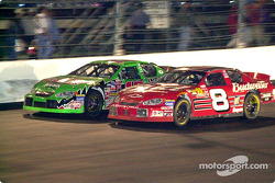 Bobby Labonte and Dale Earnhardt, Jr
