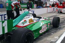 Andretti Green pit area