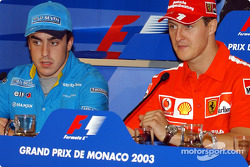 Wednesday FIA press conference: Fernando Alonso and Michael Schumacher