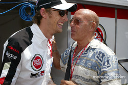 Jenson Button and Stirling Moss