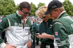 Mark Blundell and Johnny Herbert: