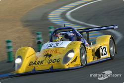 #23 Team Bucknum Racing Pilbeam-JPX: Jeff Bucknum, Bryan Willman, Chris McMurry