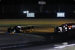 #7 Team Bentley Bentley Speed 8: Tom Kristensen, Rinaldo Capello, Guy Smith, and #53 Corvette Racing Gary Pratt Corvette-Chevrolet C5: Ron Fellows, Johnny O'Connell, Franck Freon