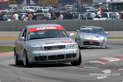 #04 Istook/Aines Motorsport Group Audi S4 and #38 Unitech Racing Nissan 350Z