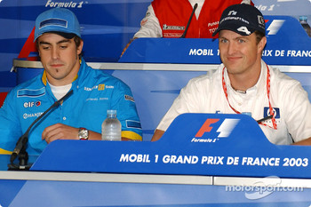 Thursday FIA press conference: Fernando Alonso and Ralf Schumacher
