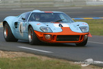 #4 Ford GT40: Martin Colvill, Jackie Oliver