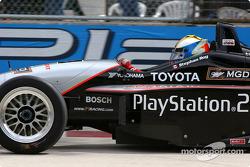 Pace lap: Stephan C. Roy