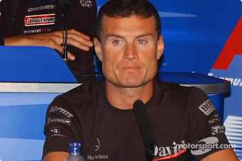 FIA press conference: David Coulthard