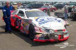 Christi Passmore crash damage