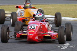 Kurt Wimmer grabbing 7th during Formula Ford qualifying