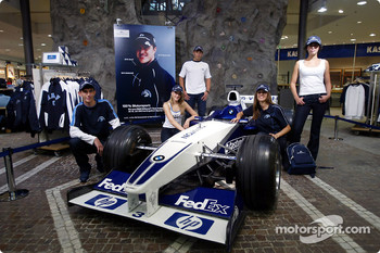 Ralf Schumacher visits Englehorn Sports shop in Mannheim
