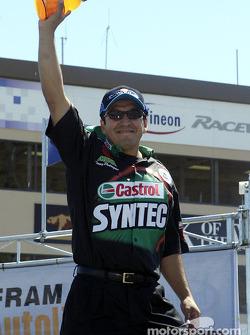 Funny Car driver Tony Pedregon