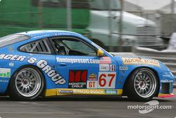 #67 The Racers Group Porsche GT3 RS: Michael Schrom, Jean-François Dumoulin