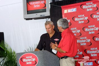 Former Brickyard winner Dale Jarrett