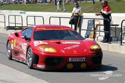 #32 Risi Competizione Ferrari 360 Modena: Mauro Baldi, Andrea Bertolini