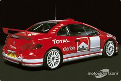 Peugeot 307 WRC launch