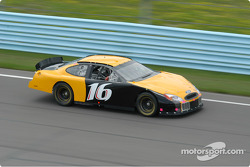 Greg Biffle on the front straight