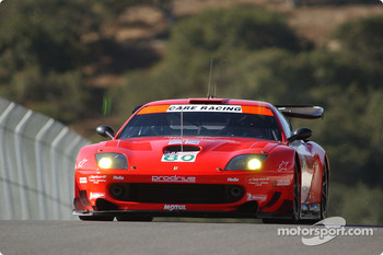 #80 Prodrive Ferrari 550 Maranello: Jan Magnussen, David Brabham