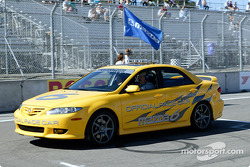 Speed pace car