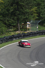 #01 1964 MGB Coupe, owned by Alan Tosler gets loose heading into the boot
