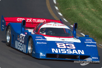 #83 1990 Nissan R90c, owned by Jim Oppenheimer