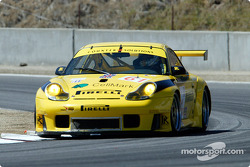 #61 P.K. Sport Porsche 911 GT3RS: Vic Rice, David Warnock