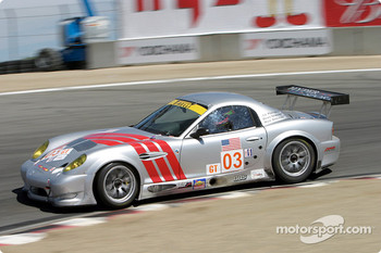 #03 Hyper Sport Panoz Esperante GT-LM Elan: Joe Foster, Brad Nyberg, Rick Skelton