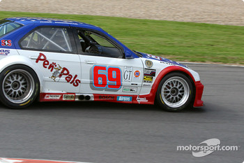 #69 Marcus Motorsports BMW M3: Brian Cunningham, Hugh Plumb, Cory Friedman