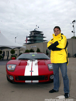 Giancarlo Fisichella and the Ford GT40