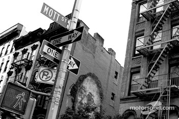 New York City street scene