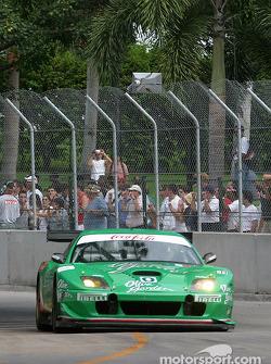 #0 Team Olive Garden Ferrari 550 Maranello: Emanuele Naspetti, Domenico Schiattarella