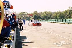 Pitstop for #69 Marcus Motorsports BMW M3: Brian Cunningham, Hugh Plumb
