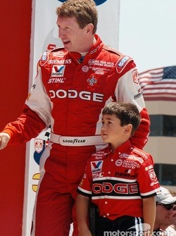 Bill and Chase Elliott
