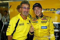 Eddie Jordan and Satoshi Motoyama