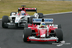 Cristiano da Matta and Jenson Button