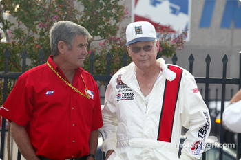 Al Unser Sr. and Lloyd Ruby