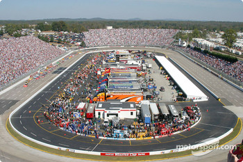 Start of the Subway 500 at Martinsville