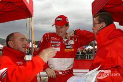 Jean-Pierre Nicolas, Marcus Gronholm and Nicol Gullino